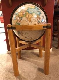Globe With Stand