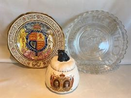 King George Queen Elizabeth Items