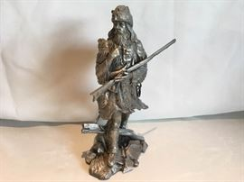 Pewter Fur Trapper