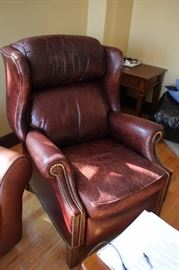 Studded Wing Chair