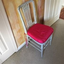 Petite bedroom chair