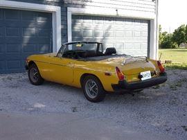 1979 MGB 37,000 miles
