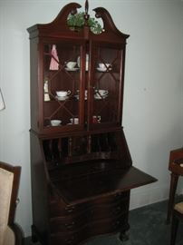 Federal Style Drop Front Secretary