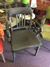 #31Gray Metal Chair $25.00