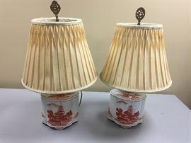 Vintage Japanese lamps