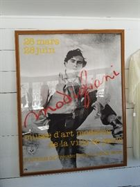 Huge Parisian street poster of a classic 1984 show