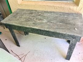 Rustic table $35