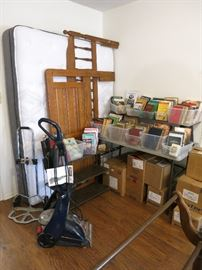 Bissel Power Steamer, Dolly, King Headboard, Queen Headboard With Frame, Vintage Books
