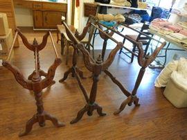 Vintage Wooden Quilt Racks