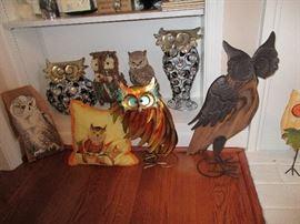 OWLS & OWLS  & MORE OWLS