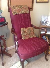 many lovely very vintage chairs