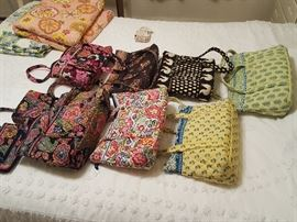 Vera Bradley Bags....several more not pictured