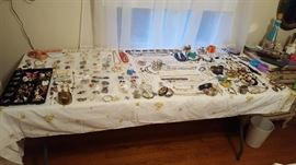 This is just a sample....LOTS of costume jewelry.