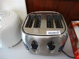 Hamilton Beach 4 slice s/s toaster