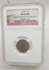 Ngc graded Indian Head Cent