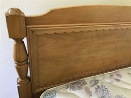 Detail on headboards