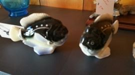 Vintage salt and pepper shakers. Made in Japan.