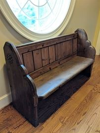 European Church Pew