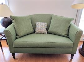 "Ethan Allen Loveseat - 62"" Long"