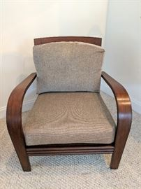 1 of 2 Matching Ethan Allen Chairs
