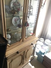 Beautiful French provincial cabinet