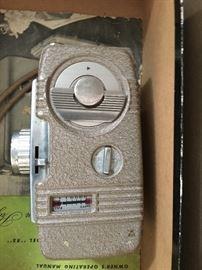 Vintage camera and projectir