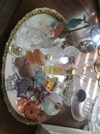Antique and vintage perfume bottle collection