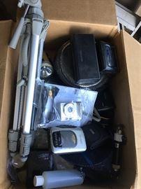 Cameras and camera equipment