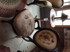 Victorian Lady's Chair with beautiful upholstery