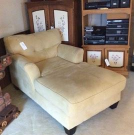 Chaise and Two of a Few Cabinets