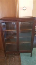 Macy Glass Front Cabinet
