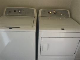 Bravos washer and gas dryer. Only 4 years old. Top of the line