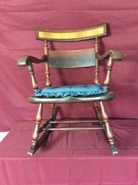 Wooden Rocking Chair  https://www.ctbids.com/#!/description/share/6668