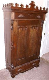 C.1860's Blind Front Cabinet