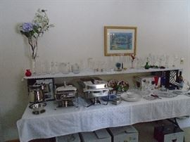 Nice chafing dishes