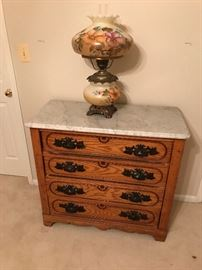 Antique Marble top dresser