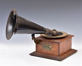 Victor Junior Gramophone             Bid on-line today through March 21st at www.fairfieldauction.com