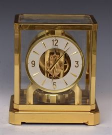 Le Coultre Atmos Clock             Bid on-line today through March 21st at www.fairfieldauction.com