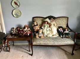 Parlor Pieces, Dolls & More