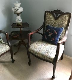 Tiered Table, GWTW Electric Lamp & More