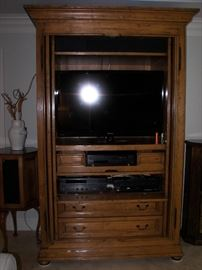 TV cabinet, beverage center or wardrobe