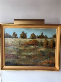 Landscape Painting by  Jeff Boutin