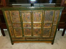 Outstanding Antique Mongolian Chest
