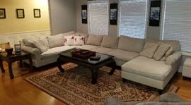 Beautiful U Shaped Sectional Sofa