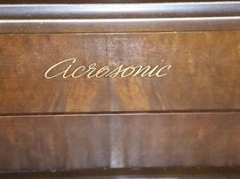 Aerosonic Upright Piano