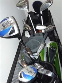 golf clubs - RECLAIMED by HOMEOWNER