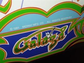 Galaga, Ms. Pacman, Frogger