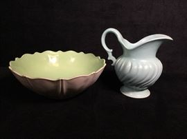004 Franciscan ware pitcher and more