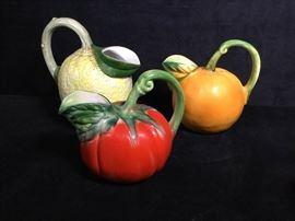005 Italian hand painted fruit
