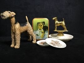 009 Airedale collectibles